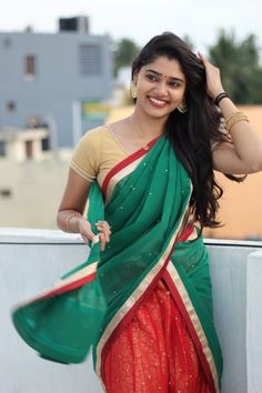 Beautiful Girl In India, Beautiful Indian Actress, Beautiful Asian Girls, Beautiful Women, Beautiful Saree, Beautiful Bride, Cute Little Girl Dresses, Stylish Dresses For Girls, Beauty Full Girl
