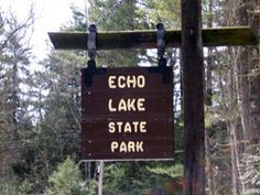 North Conway NH New Hampshire - Echo Lake State Park- Cathedral Ledge - White Horse Ledge