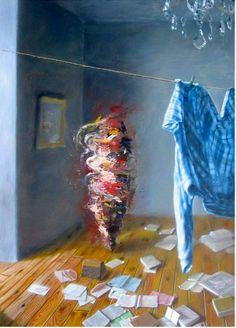 Gregory Chiha's Distorted Figures