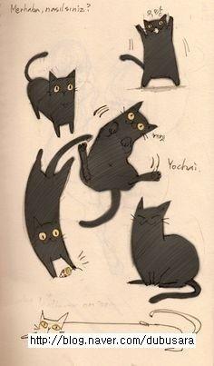 고양이그림,고양이일러스트.동물일러스트
