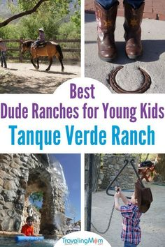 Best Dude Ranches for Young Kids: Tanque Verde Ranch Beach Photography Friends, Beach Photography Poses, Packing List For Travel, Travel Tips, Travel Destinations, Usa Travel, Travel With Kids, Family Travel, Dude Ranch Vacations