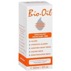 Bio-oil for stretch marks, acne scars, etc. I actually own this and it worked wonders!