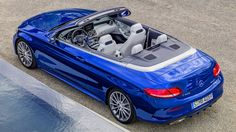 ut one night before the auto show starts in Switzerland and one day after the Oscars gala, the new Mercedes-Benz C-Class Cabriolet comes out into the light. Mercedes Auto, Mercedes Benz C Klasse, Mercedes World, New Mercedes, Mercedes Maybach, New C Class, Carl Benz, Porsche, Automobile