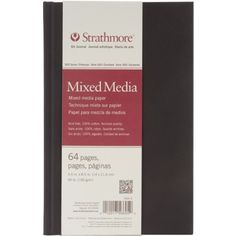 """❤ Strathmore Visual Journal Spiral Bound 5.5/"""" X8/"""" Craft Acid 140 Watercolor"""