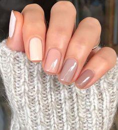 Neutral Nails, Nude Nails, Pink Nails, Neutral Tones, Neutral Nail Designs, Cute Simple Nail Designs, Fun Nail Designs, Shellac Nail Designs, Cute Simple Nails