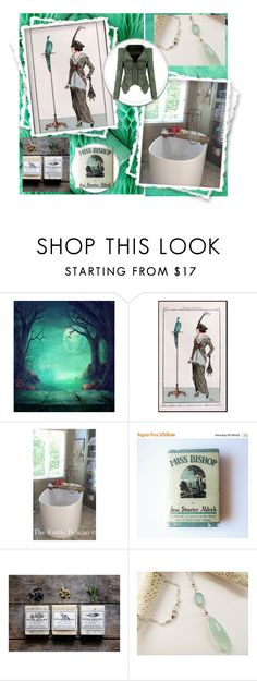 """Miss Bishop Should Relax And Unwind"" by jarmgirl ❤ liked on Polyvore featuring vintage"