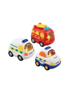 VTech Toot Toot Drivers 3 Car Pack - Emergency Vehicles