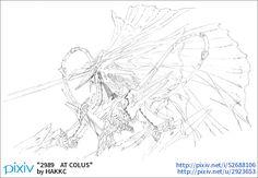 「2989 AT COLUS」/「HAKKC」[pixiv]
