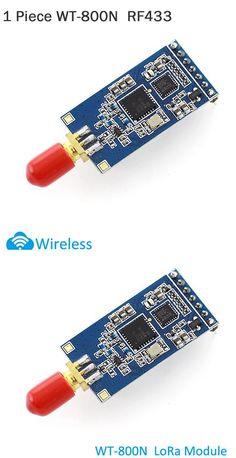 1 Piece WT-800N RF 433 Low Power Long Range Mesh Network Lora Module 420~450MHz Remote Control Module WT-800N