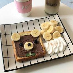 Think Food, I Love Food, Good Food, Yummy Food, Tasty, Cute Desserts, Dessert Recipes, Breakfast Recipes, Kreative Desserts