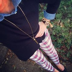 old navy pants stella and dot necklace Sugarplum Style, Vol. 9