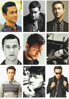 The many faces of the most handsome man on the planet :)