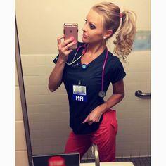 Beautiful Nurse, 3 Weeks, Selfie, Night, Instagram, Selfies