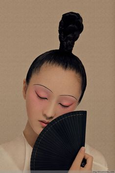 Love conquers All! I Love the smell of rain! Chinese Style, Chinese Art, Chinese Element, Creative Makeup Looks, Mood Images, Art Japonais, Foto Art, Chinese Culture, China Fashion