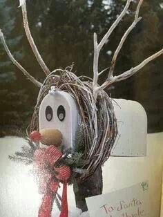 Reindeer mailbox