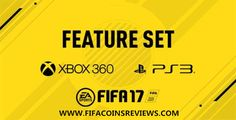 FIFA 17 Features for Xbox 360 and PlayStation 3!  The best sites to buy the cheapest FIFA coins - http://FifaCoinsReviews.com