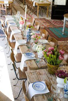 Bohemian Delft Wedding | SouthBound Bride | http://www.southboundbride.com/bohemian-delft-wedding-at-kalmoesfontein-by-hearts-in-a-shutter-natasha-gavin | Credit: Hearts in a Shutter