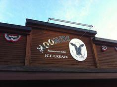 Moomers Ice Cream, Traverse City, MI #puremichigan