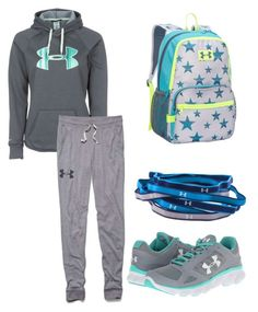 """under amour"" by iarcher on Polyvore featuring Under Armour"