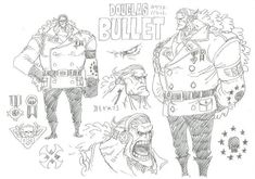 Character Illustration from anime movie One Piece Stampede Character Sketches, Character Sheet, Character Illustration, Anime One Piece, One Piece Ace, One Piece Merchandise, One Piece Zeichnung, One Piece Movies, One Piece Chapter