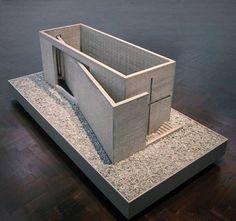 Model : Church of Light | Tadao Ando | @urbanscape
