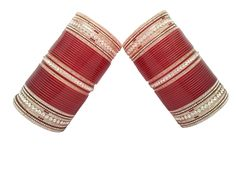 Beautiful Simple And Sober Punjabi Chura, To See more designs visit us at www.indianbridalhome.com
