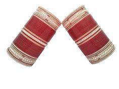 Beautiful Simple And Sober Punjabi Chura, To See more designs visit us at www.indianbridalhome.com