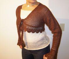 free crochet shrug patterns | Online Crochet Patterns | Free Crochet Pattern Shrug
