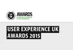 Editing Justinmind at the User Experience UK Awards 2015