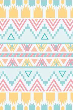 Aztec Pattern iPhone 5 Wallpaper