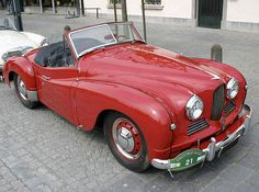 Jowett Jupiter Roadster • 1952 • GB