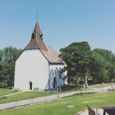 See this Instagram photo by Holly Becker @decor8 • Gotland Sweden Church
