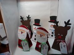 Amy's Crafting Space: Christmas Containers & Robin's Creative Cottage Link Up Party