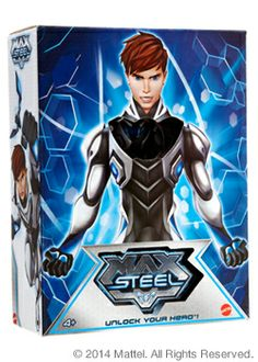 SDCC2014-Mattycollector: Turbo Charged Max Steel™ w/Weaponized Steel. Sweet!