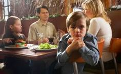 al ristorante con i bambini
