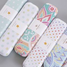 Cheap case school, Buy Quality pencil case school directly from China pencil case Suppliers: JIANWU/Minimalism iron Tinplate creative stationery box tin pencil box Cartoon pencil case school student gifts Stationary School, Cute Stationary, Crochet Bedspread Pattern, Cool School Supplies, Zinn, School Accessories, Cute Notebooks, School Items, Pencil Boxes