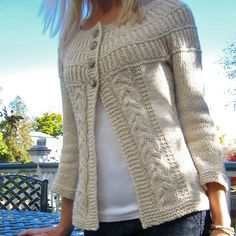 Free pattern fabulous modifications for the Shalom cardigan