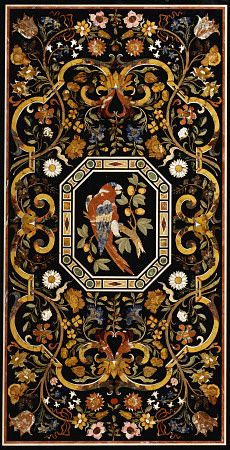 Pietra dura, technique of using cut and fitted, highly polished colored stones to create images. It is considered a decorative art.