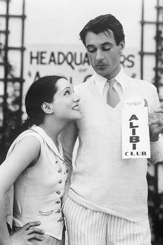 Lupe Velez and Gary Cooper, 1929.   Cannot cope