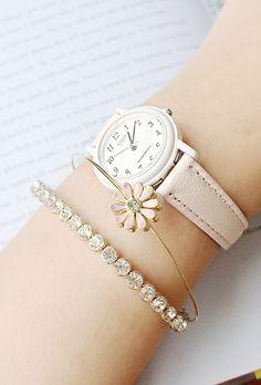 [바보사랑] 내 손목을 봄으로 꾸며볼까요 /시계/팔찌/뱅글/손목시계/주얼리/악세서리/스타일/Clock/Watch/Bracelet/Bangles/Jewelry/Accessories/Style