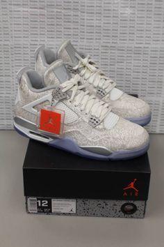 c712a6f229eb4a Nike Air Jordan Retro 4 Laser Sz 12 705333-105 Brand00 New D