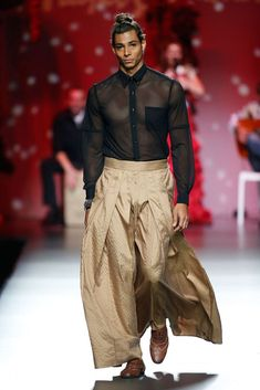 Male Fashion Trends: Francis Montesinos Spring/Summer 2016 - Mercedes-Benz Fashion Week Madrid