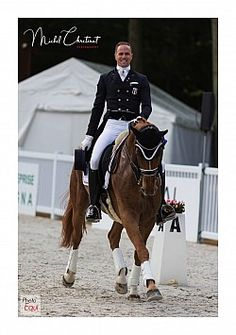Jean Philippe SIAT (FRA) & Lovesong Dressage, Jean Philippe, Equestrian, Riding Helmets, Horses, Sports, Pictures, Animals, Fashion