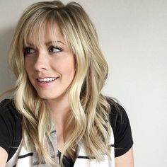 THESE WISPY BANGS ARE EVERYTHING!