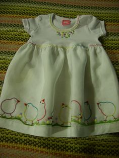 768 × pixels Source by Girls Dresses Sewing, Dresses Kids Girl, Kids Outfits, Homemade Baby Clothes, Baby Doll Clothes, Embroidery On Clothes, Baby Embroidery, Kids Dress Patterns, Doll Clothes Patterns