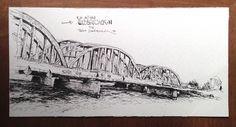 Zeichnung / drawing60x30 cm
