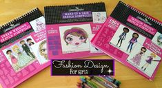 These Fashion Design Sets for Girls from Fashion Angels make the best gifts! They are inexpensive and packed with fashion friendly entertainment Christmas Presents For 10 Year Olds, Birthday Presents For Girls, 18th Birthday Cards, Teen Birthday, Best Christmas Gifts, Best Gifts, Top Gifts, Holiday, Diy Gifts For Dad