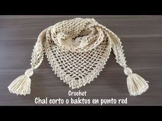 Chal a crochet en punto red Diagram for this scarf Crochet Jacket, Crochet Cardigan, Crochet Scarves, Crochet Shawl, Hippie Crochet, Love Crochet, Crochet Baby, Crochet Shoes Pattern, Crochet Patterns