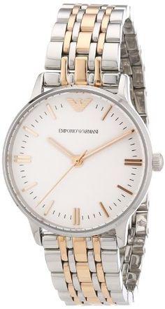 Emporio armani damen armbanduhr xs chronograph edelstahl ar5942