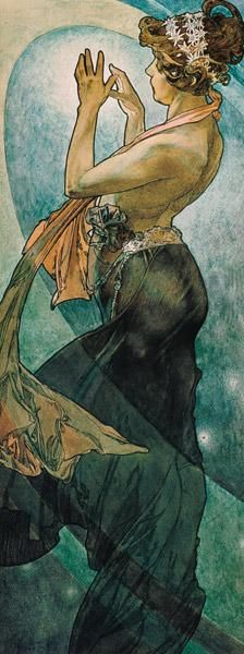 Alphonse Mucha - Stars: The Pole Star